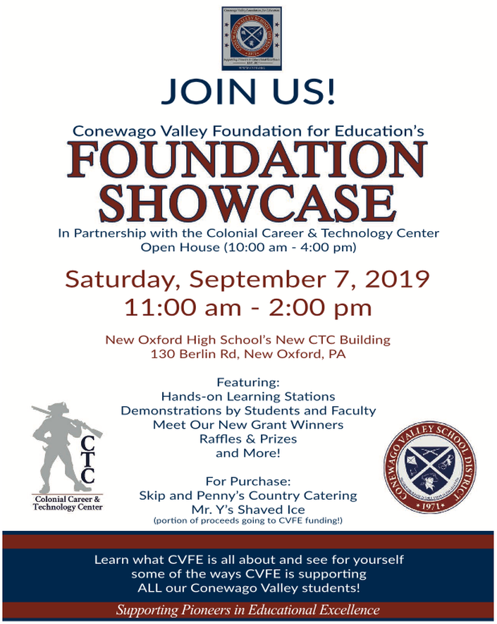 CVFE Foundation Showcase - Colonial Career and Technology Center